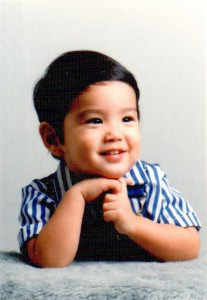 Dr. Stephen Sueda as a baby