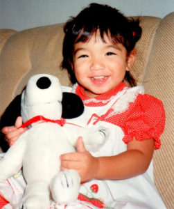Dr. Stacie Sueda as a baby